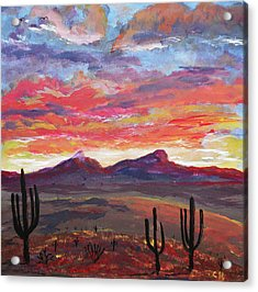 How I See Arizona Acrylic Print