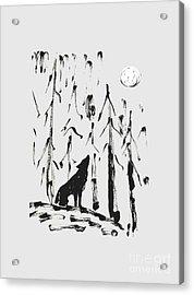 Howl #2 Acrylic Print