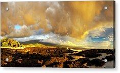 Hualalai Sunset Acrylic Print