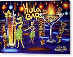 Hula Bar Acrylic Print