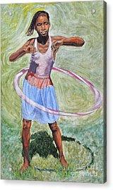 Hula Hoop  Acrylic Print