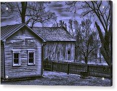 Humble Homestead Acrylic Print