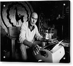 Hunter S. Thompson Acrylic Print