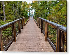 Hunter's Point At Copper Harbor Acrylic Print