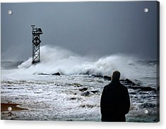 Acrylic Print featuring the photograph Hurricane Watch by Bill Swartwout Fine Art Photography