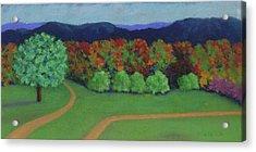Hutchins Farm In Fall Acrylic Print
