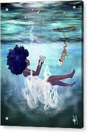 I Aint Drowning Acrylic Print