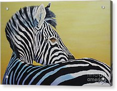 I Caught You Looking At Me Acrylic Print
