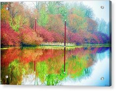Acrylic Print featuring the photograph I Dream Of Autumn by Dee Browning