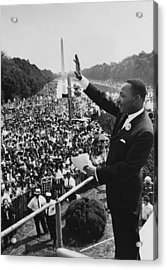 I Have A Dream Acrylic Print