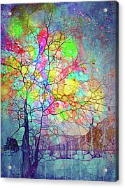 I Will Shine For You, Even In This Storm Acrylic Print