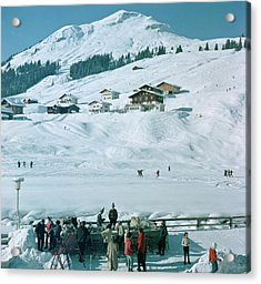 Ice Bar In Lech Acrylic Print