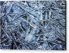 Acrylic Print featuring the photograph Ice Crystals by Dawn Richards