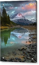 Acrylic Print featuring the photograph Ice Fields Parkway / Alberta, Canada  by Nicholas Parker