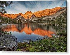 Idaho Wilderness Acrylic Print by Leland D Howard