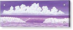 If The Sky Was Purple Acrylic Print