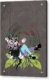 Illustration And Painting Acrylic Print