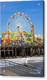 Image Of A Popular Destination The Pier Acrylic Print