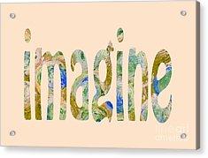 Imagine 1009 Acrylic Print