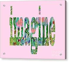 Imagine 1011 Acrylic Print