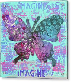 Imagine Butterfly 2 Acrylic Print