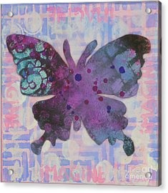 Imagine Butterfly Acrylic Print
