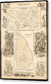 Imperial Possessions Acrylic Print by Hulton Archive