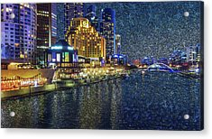 Impression Of Melbourne Acrylic Print
