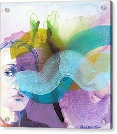 In A Mood Acrylic Print