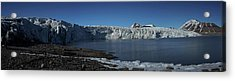 In Front Of A Glacier On Svalbard Acrylic Print