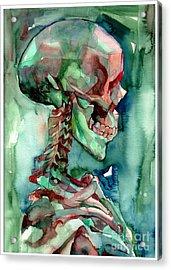 In Reverie Acrylic Print