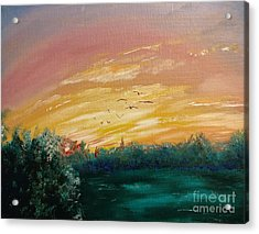In The Evening Acrylic Print