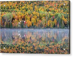 Acrylic Print featuring the photograph In The Heart Of Autumn by Pierre Leclerc Photography