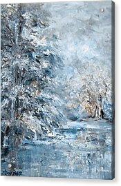 In The Snowy Silence Acrylic Print