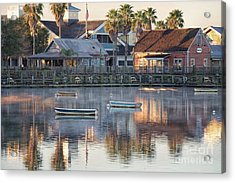In The Stillness Of The Morn Fine Art Photography By Mary Lou Chmura Acrylic Print