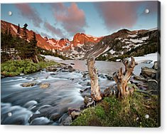 Indian Peaks Wilderness Lake Isabelle Acrylic Print