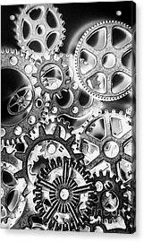 Industry Iron Acrylic Print