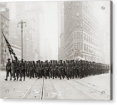 Infantry Parade Acrylic Print by Fpg