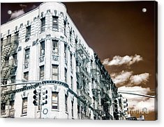 Infrared Old Mulberry Street New York City Acrylic Print