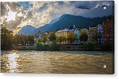Inn River Acrylic Print