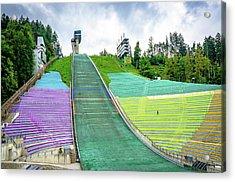 Innsbruck Olympic Stadium Acrylic Print