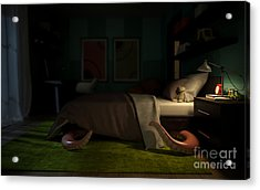 Interior Childrens Room With A Acrylic Print