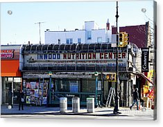 Acrylic Print featuring the photograph Inwood Nutrition Center by Cole Thompson