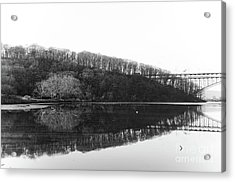 Acrylic Print featuring the photograph Inwood Reflections by Cole Thompson