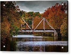 Acrylic Print featuring the photograph Iron Bridge by Allin Sorenson