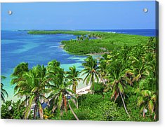 Isla Contoy Acrylic Print