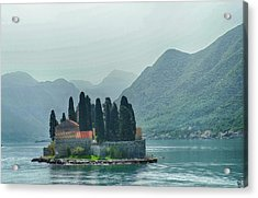 Island Church Of St George Acrylic Print