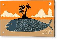 Island Fish Acrylic Print