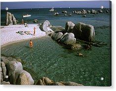 Island Paradise Acrylic Print by Slim Aarons