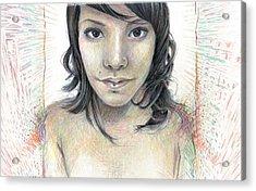 Isolate Acrylic Print
